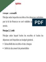Lois des finances et principes budgetaires_p12
