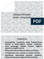 Alcani-alchene