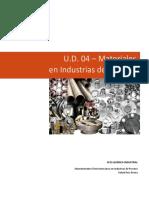UD 04. Materiales en Industrias de Proceso _v1