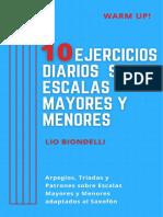 10 Ejercicios Diarios sobre Escalas Mayores y Menores (Lio Biondelli) (1).pdf