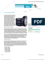 Tire Speed Ratings Explained