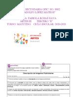 ACTIVIDADES DE REFORZAMIENTO ARTES 3