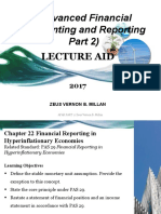CHAPTER 22_FINANCIAL REPORING IN           HYPERINFLATIONARY ECONOMIES