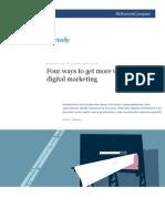 McKinsey Quarterly - Digital Marketing
