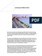 Learning From Marine Drive - Charles Correa