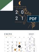 Calendario Lunar 2021 Lunalogia