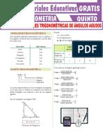 Ejercicios-de-Razones-Trigonométricas-de-Ángulos-Agudos-Para-Quinto-Grado-de-Secundaria