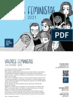Calendario 2021 Feminismo Inc.