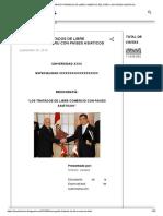 MONOGRAFÍA TRATADOS DE LIBRE COMERCIO DEL PERÚ CON PAÍSES ASIATICOS