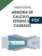 01.- MEMORIA DE CALCULO DE CAUDALES