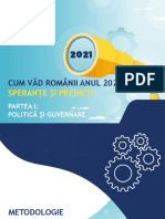 IRES_CUM VAD ROMANII 2021_PARTEA I_POLITICA SI GUVERNARE