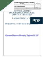 Lab 01 - Dispositivos y Software de programación Controladores