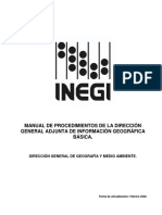 Manual de procedimientos INEGI