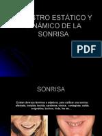 REGISTRO ESTATICO Y DINAMICO  DE LA SONRISA