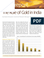 The Role of Gold in India