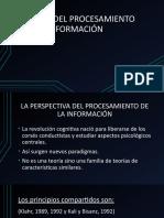 teoría del procesameinto de la información