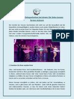 5 Unerwartete Gelegenheiten bei denen Sie Salsa tanzen lernen müssen