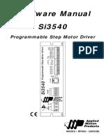 Si3540_Hardware_Manual