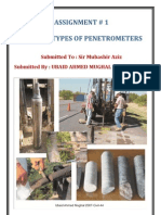 Types Of Penetrometers..(Ubaid Ahmed Mughal)