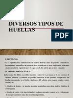 TIPOS DE HUELLAS