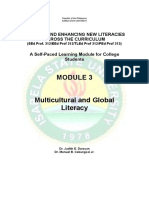 Module 3 Multicultural and Global Literacy