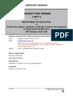 DoE 1256 - Graduate Cert in Career Development - RFT.docx