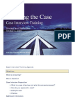 Deloitte - Case interview