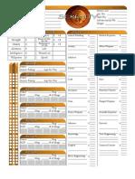 Serenity Editable CharSheet