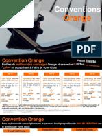 Pésentation Offres Convention Orange