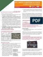 2013-06-06 Enduits - Joints - Mortiers de chaux - La réfection d'un enduit.pdf