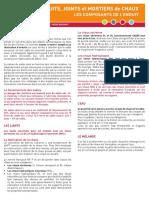 2013-06-06 Enduits - Joints - Mortiers de chaux - Les composants de l'enduit.pdf