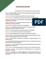 Automatisme Résumé.pdf