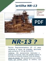 Cartilha NR-13