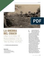 Guerra Del Chaco - Maniobras
