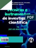Técnicas e Instrumentos de Investigación Cientíifica