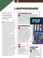 Mapa de uma motherboard