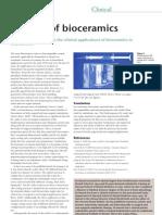 The rise of bioceramics