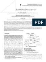 Intelligent Handoff for Mobile Wireless Internet