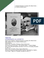 Nikola Tesla would have celebrated Christmas on January 7th