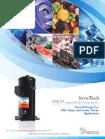 Invotech Scroll_YM_YF_Refrigeration
