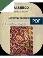 ARABESCO. Bambuco para piano. Gerardo Betancourt.