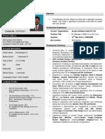 Vinothkumarramalingam 6.8 Yrs Azure Devops Lead Bangalore