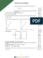 Cours - Physique - Resumée cours physique RC-RL-RLC - LC - Bac Toutes Sections (2017-2018) Mr Ramzi Rebai