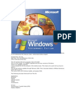 Windows XP Pro Performance Edition Feb 2008