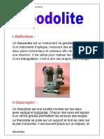 théodolite