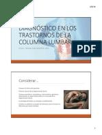 2. Diagnóstico diferencial en los SDL