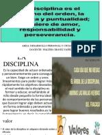 DIISCIPLINA