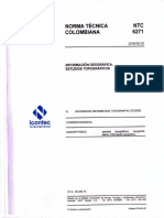 NORMA TECNICA COLOMBIANA 6271 2018