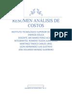 Resumen Análisis de Costos