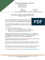 Lewis County Announces Vaccine Distribution Plan 1.11.21